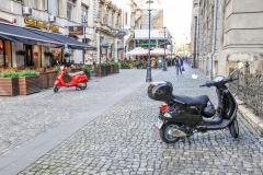 Scooter in Bucharest 1