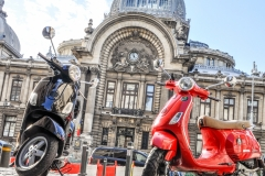 Scooter in Bucharest 2