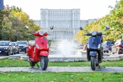 Scooter in Bucharest 4
