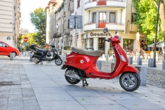 Vespa rentals Bucharest 1
