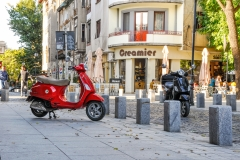Vespa rentals Bucharest 2